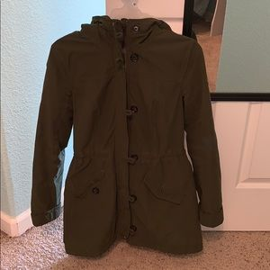 Warm winter jacket with Sherpa lining